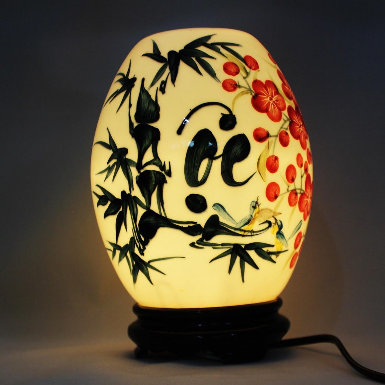 Kết quả hình ảnh cho Đèn ngủ chất liệu sứ